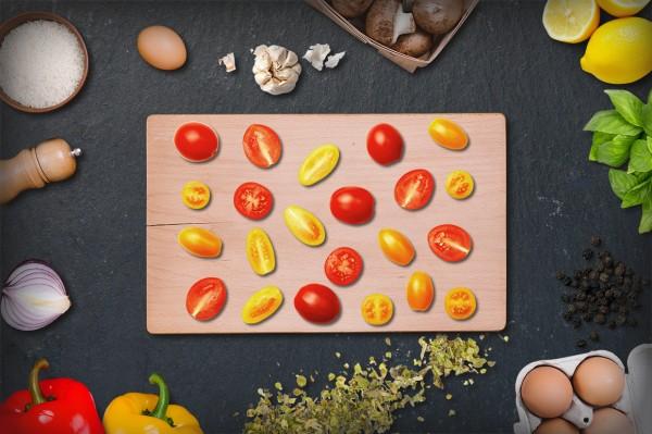 Cherry gemischte Tomaten